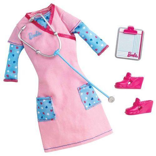 Mattel Barbie ubranka bądź kim chcesz Y6786 Pielęgniarka - sprawdź w Mall.pl