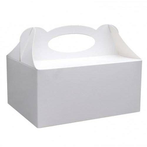 Ozdobne pudełko na ciasto białe - 1 szt. marki Dp
