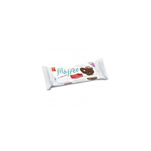 Fit&free herbatniki czekoladowe bez cukru 120g marki Cukry nyskie