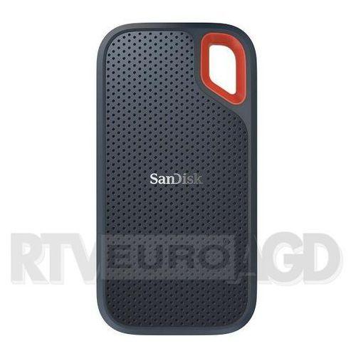 Sandisk Zewnętrzny dysk ssd extreme portable 500gb sdssde60-500g-g25 (0619659165239)