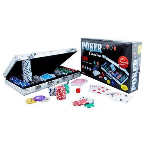 Albi Poker casino. 300 żetonów. gra karciana - zakupy powyżej 60zł dostarczamy gratis, szczegóły w sklepie (8590228002082)