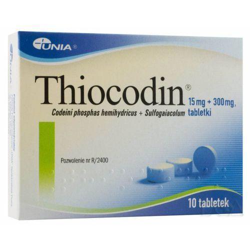 THIOCODIN 10 tabletek (maksymalna ilość w zamówieniu 2 szt.) (na kaszel)