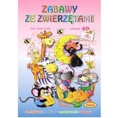 ZABAWY ZE ZWIERZĘTAMI PASJA 9788364773792 + zakładka do książki GRATIS (2016)