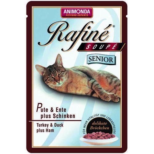 rafine soupe senior indyk z kaczką i szynką 100g marki Animonda
