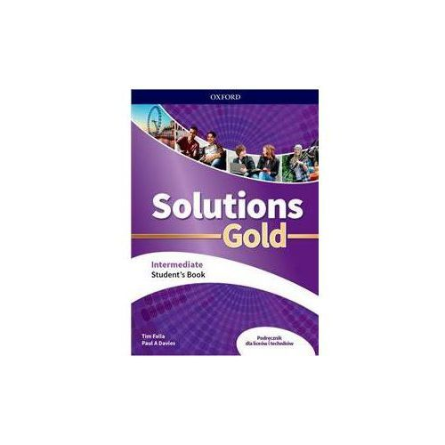Solutions Gold Intermediate. Student's Book