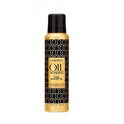 Matrix Oil Wonders Flash Blow Dry Oil 185ml W Olejek do włosów - sprawdź w E-Glamour.pl