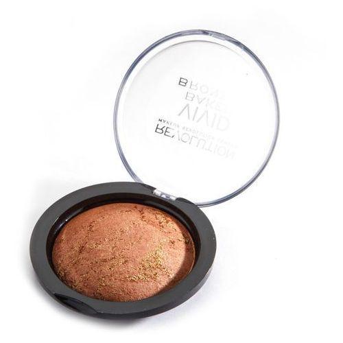Makeup revolution vivid baked bronzer bronzed fame - wypiekany bronzer