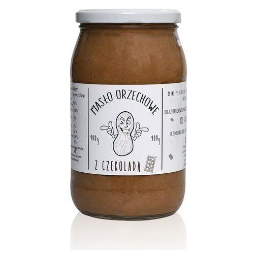 Masło orzechowe arachidowe z czekoladą 900g najlepszy produkt marki Monster