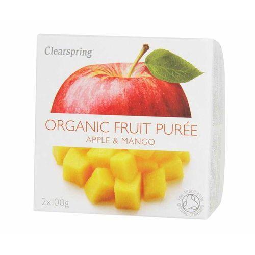 Deser owocowy jabłko - mango BIO 200g Clearspring, EKOWIT_179