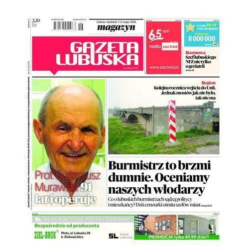 Gazeta Lubuska - B Żary, Żagań, Nowa Sól, Wschowa, Głogów, Polkowice 103/2018