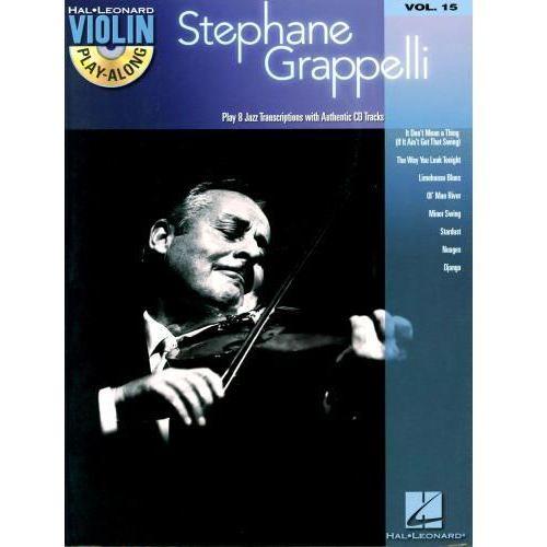 grappelli stephane - grappelli playalong na skrzypce (+ cd) marki Pwm