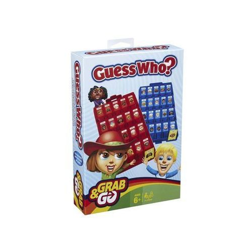 Hasbro guess who grab and go-travel