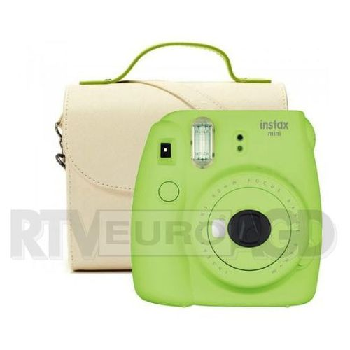 Fujifilm instax mini 9 (zielony) + wkład + torba (0000001198108)
