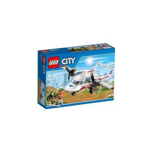 Lego City Samolot ratowniczy z kategorii samoloty