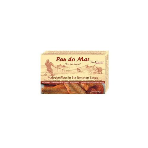Filety z makreli w bio sosie pomidorowym 1szt marki Pan do mar