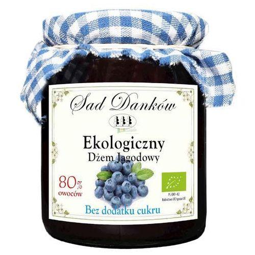 Ekologiczny dżem jagodowy bez dodatku cukru 260g Sad Danków