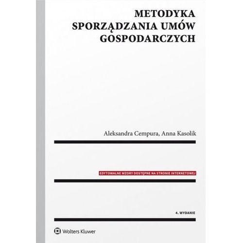 Metodyka sporządzania umów gospodarczych (2017)