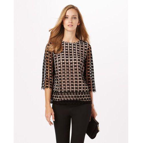 joy textured contrast lace blouse marki Phase eight