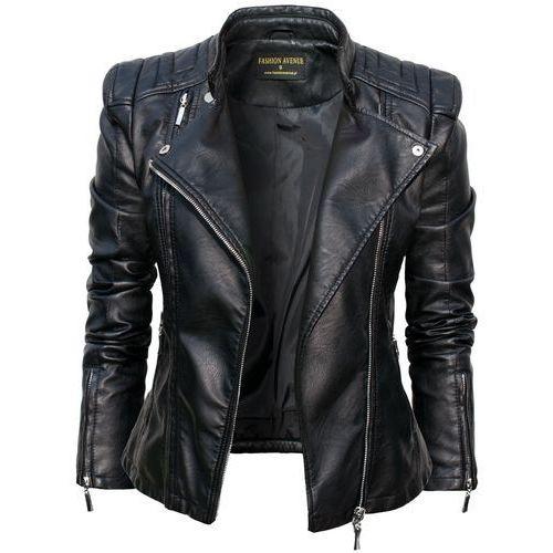 Kurtka Damska Ramoneska Moto Biker Jacket model #100 - produkt dostępny w La Moda