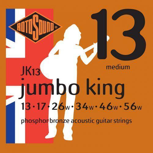 Rotosound jk13 jumbo king struny do gitary akustycznej 13-56