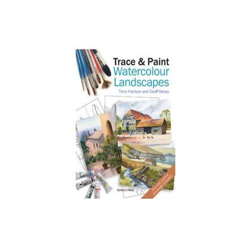 Trace & Paint Watercolour Landscapes