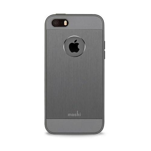 Moshi iGlaze Armour - Etui aluminiowe iPhone 5/5s/SE (Gunmetal Gray) Odbiór osobisty w ponad 40 miastach lub kurier 24h, kolor szary