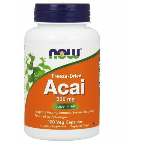 NOW Foods Acai 500 mg 100 kaps