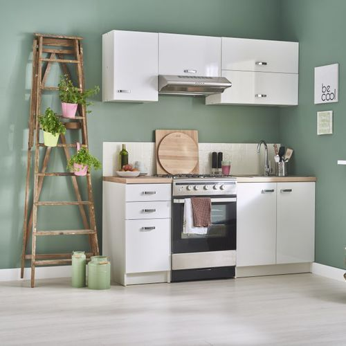 Gotowy zestaw mebli kuchennych Deftrans Aslon 1,8 m (5906365557836)