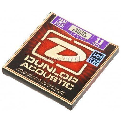 dab1152 struny do gitary akustycznej 11-52 marki Dunlop