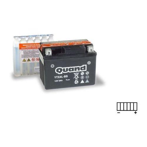 Akumulator motocyklowy QUAND YTX4L-BS 12V 3Ah 35A P+