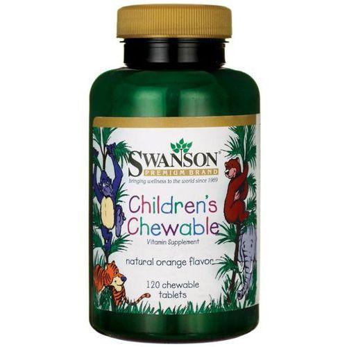 Swanson Multiwitamina dla dzieci 120 tabletek do ssania (0087614116709)