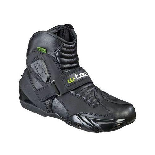 Skórzane buty motocyklowe W-TEC Tocher NF-6032, Czarny, 46 (8596084021939)