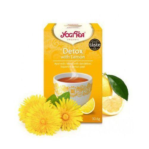 oczyszczająca z cytryną (detox with lemon) marki Yogi tea
