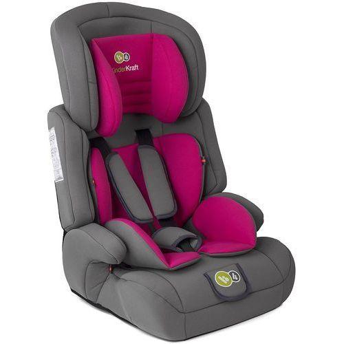 Kinderkraft Fotelik samochodowy comfort up różowy + darmowy transport!