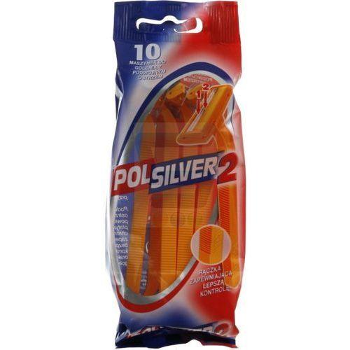 Maszynki do golenia Polsilver 2 z podwójnym ostrzem (10 sztuk)