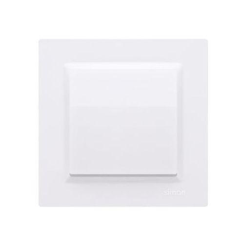 Kontakt simon Włącznik pojedynczy simon 10 biały