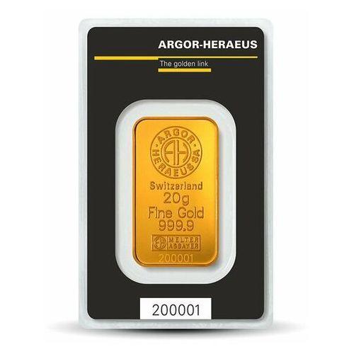 20 g Sztabka złota