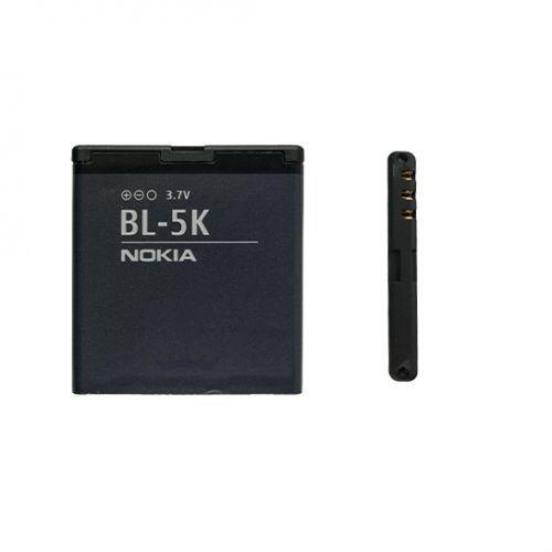 Nokia 701 / BL-5K 1300mAh 4.8Wh Li-Ion 3.7V (oryginalny), BL-5K