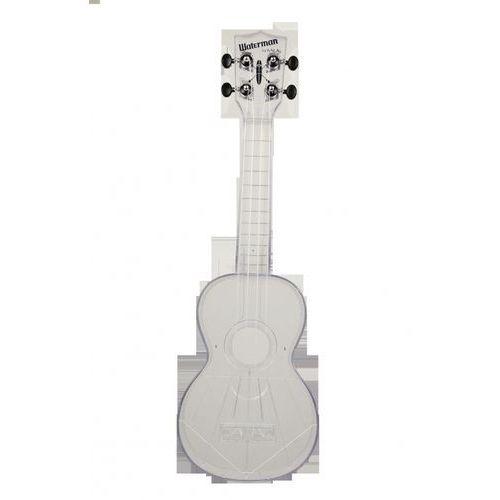 Kala ka-swt waterman, ukulele sopranowe z pokrowcem, przezroczysty