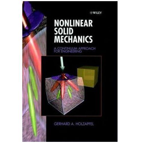 Nonlinear Solid Mechanics, Holzapfel, Gerhard A.