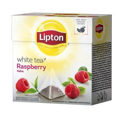 Herbata white raspberry piramidki (20 saszetek) marki Lipton