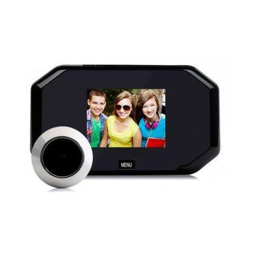"""Kamera Ukryta w Wizjerze do Drzwi (judaszu) + Kolorowy Monitor z LCD 3"""" + Zapis Obrazu..., 5907381183"""