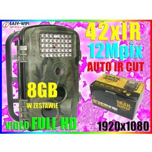 KAMERA LEŚNA FOTOPUŁAPKA IR RD1000 1920x1080 +8GB (kamera monitoringowa)
