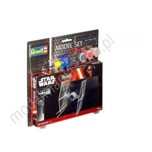 Revell Star wars - tie fighter (z farbami) 63605 (4009803636054)