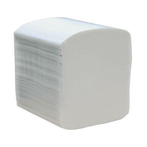 Papier toaletowy w listkach Merida Premium, 3 warstwy, celuloza, 4800 odcinków