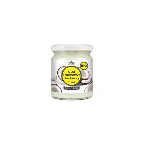 Organiczny olej kokosowy, nierafinowany 250 ml - Dr Gaja
