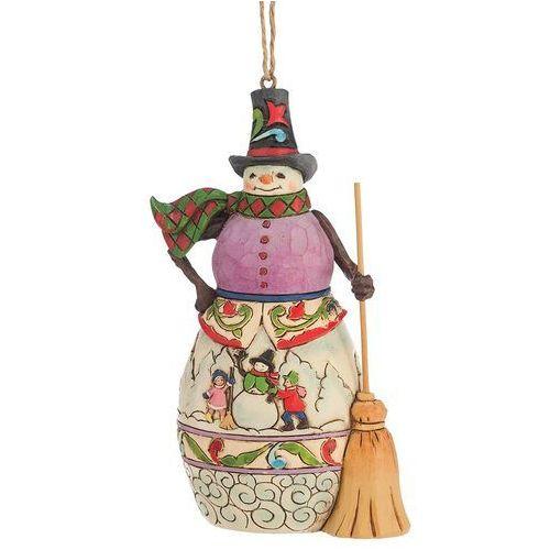 Bałwanek Zawieszka, (Winter Scene Snowman), 4047793 Jim Shore figurka ozdoba świąteczna