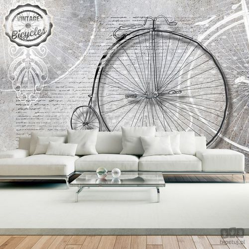 Fototapeta Vintage bicycles black and white 10110905-122, 10110905-122