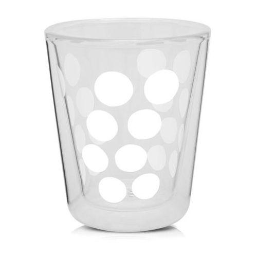 Zakdesigns Szklanka 200 ml z podwójnymi ściankami (biała) dot zak! designs