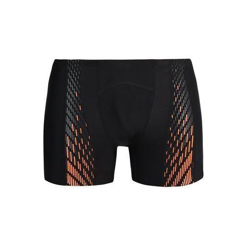 Speedo PRO Kąpielówki black/fluo orange, kolor czarny